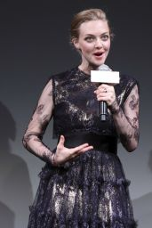 Amanda Seyfried at Shiseido Cle de Peau Beaute Press Conference in Tokyo - June 2014