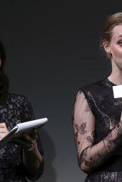 Amanda Seyfried at Shiseido Cle de Peau Beaute Press Conference in Tokyo - June 2014