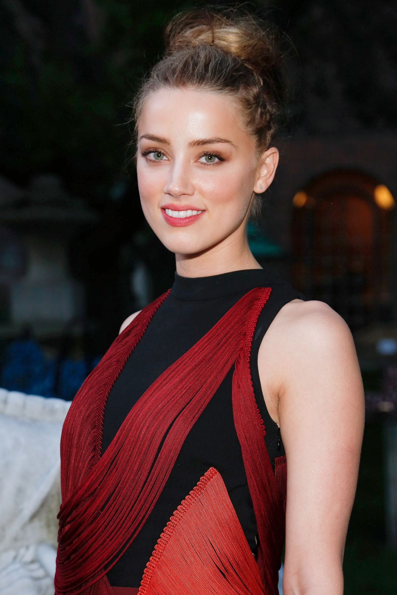 Amber Heard at Stella McCartney Spring 2015 Presentation - June 2014