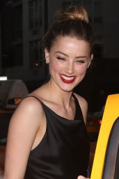 Amber Heard – Out in New York City - June 2014