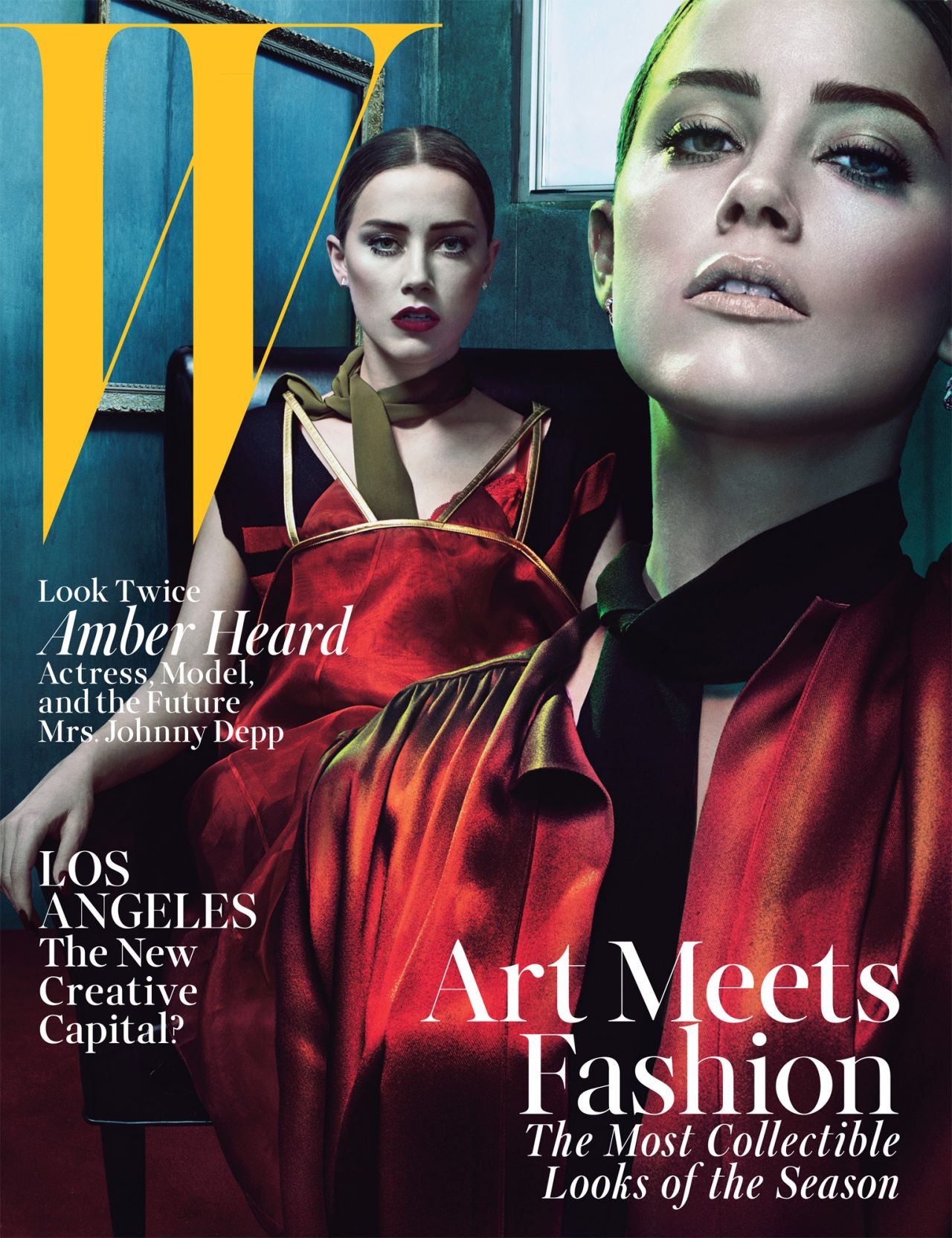 Amber Heard – W Magazine 2014 June/July Issue