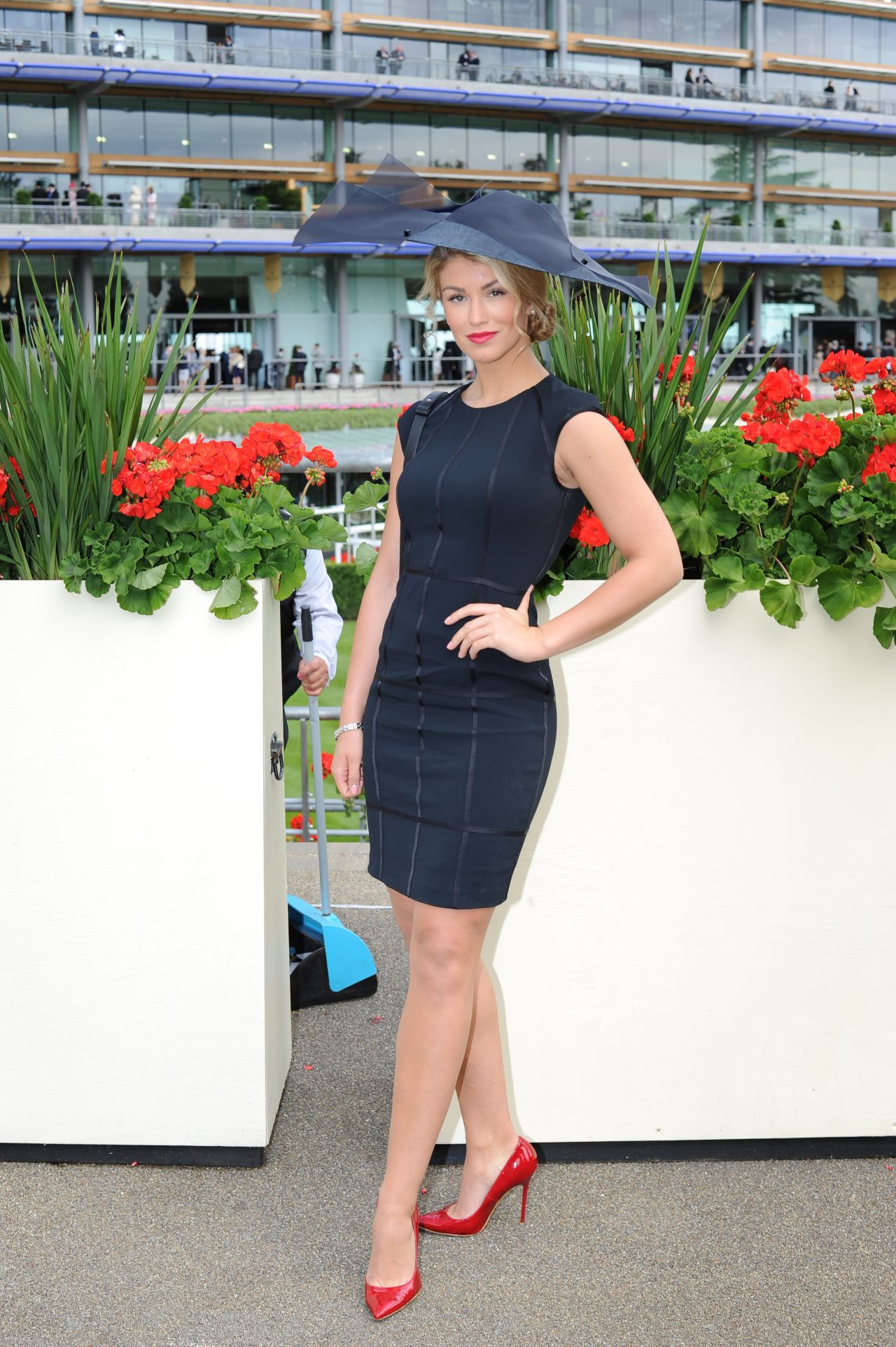 Amy Willerton At Day 4 Of Royal Ascot At Ascot Racecourse
