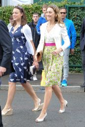 Amy Williams- 2014 Wimbledon Championships - Day six