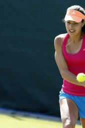 Ana Ivanovic - Practice Session Before Wimbledon 2014