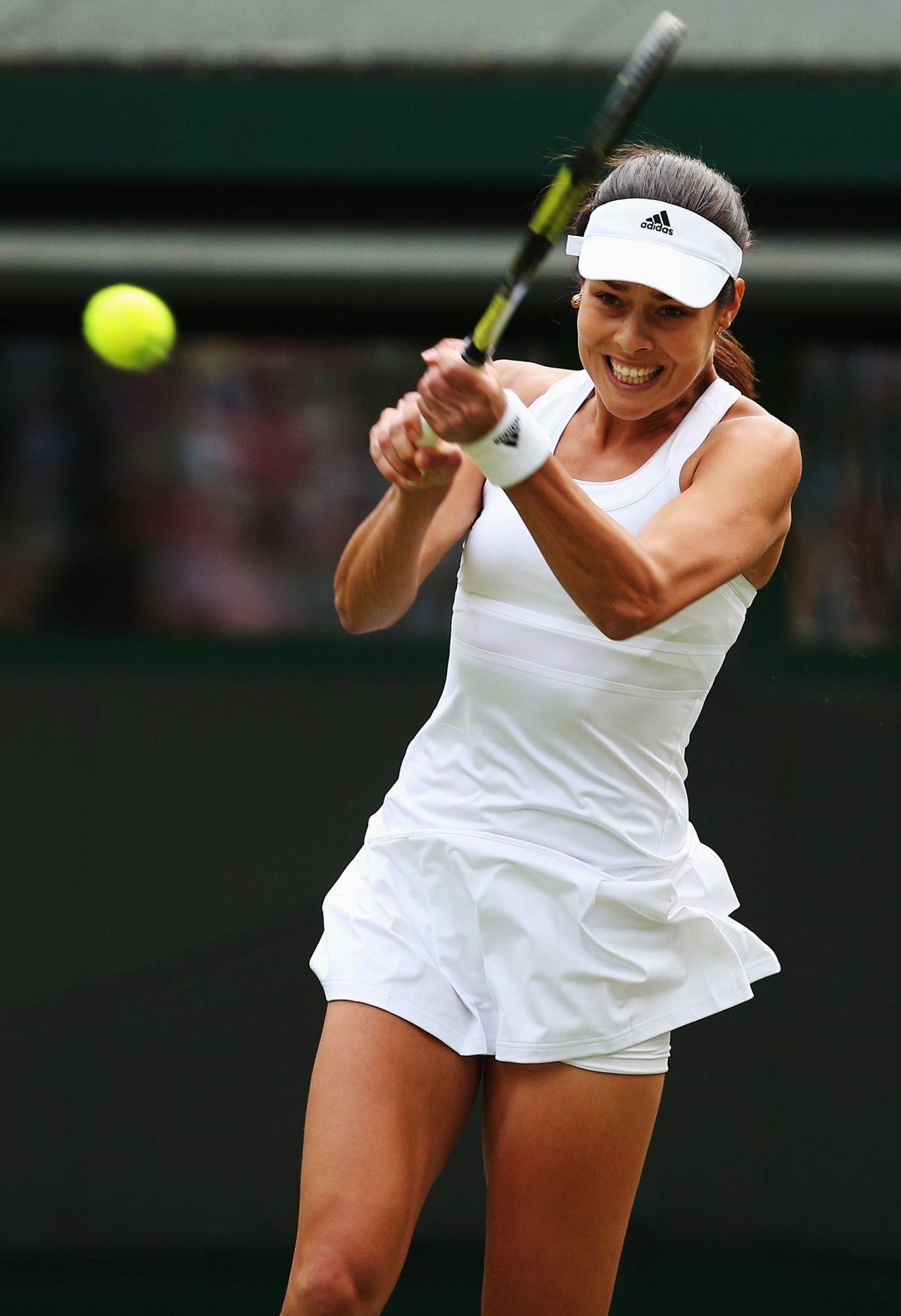 Ana Ivanovic Wimbledon Tennis Championships 2014 1st Round