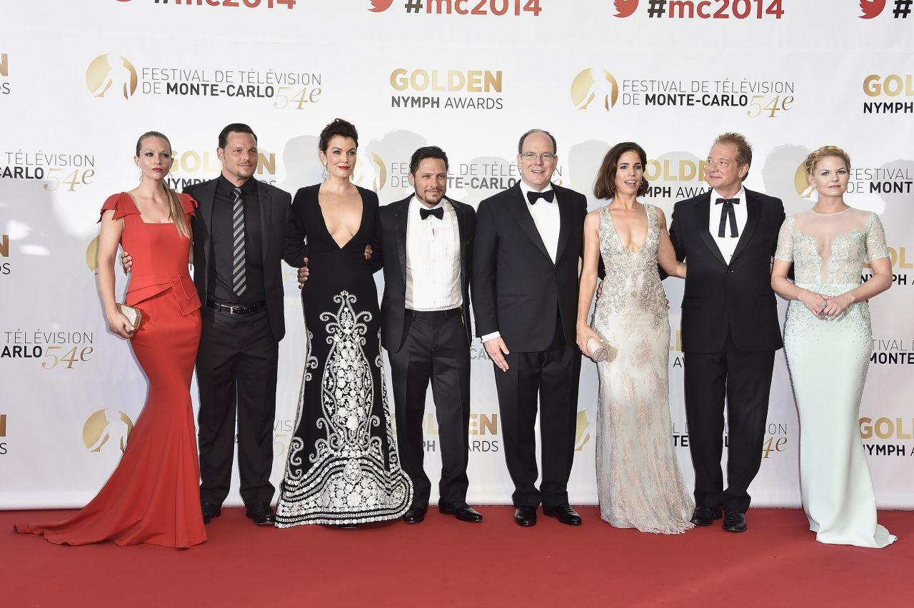 Alyssa Campanella - 2014 Monte Carlo TV Festival Closing