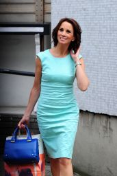 Andrea McLean - ITV Studios London - June 2014