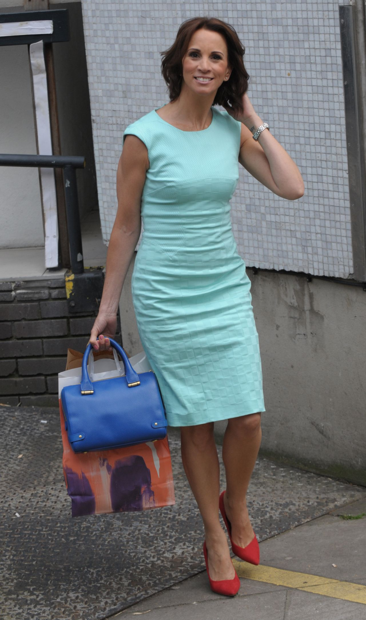 Andrea McLean – ITV Studios London – June 2014