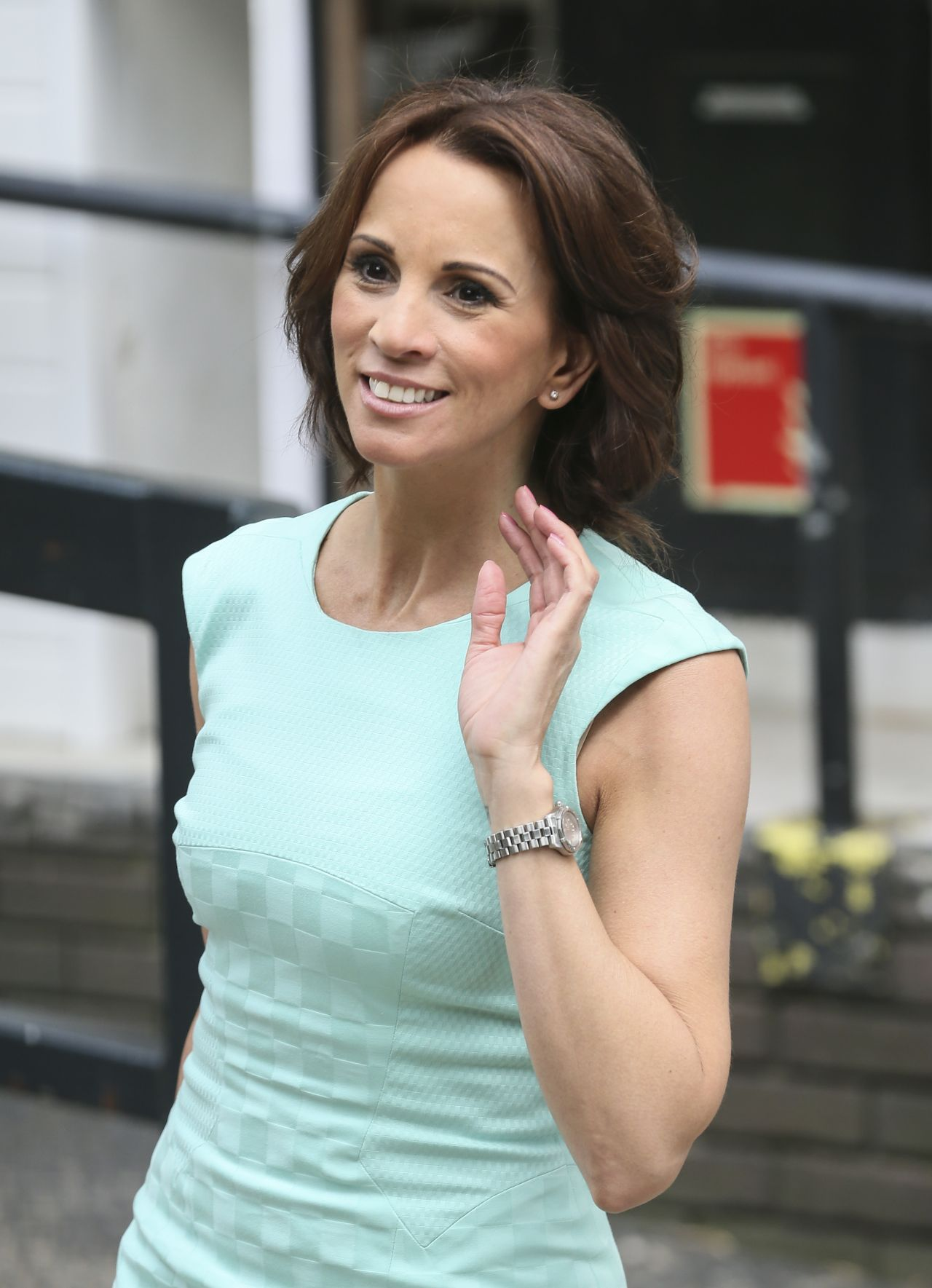 Andrea Mclean Itv Studios London June 2014