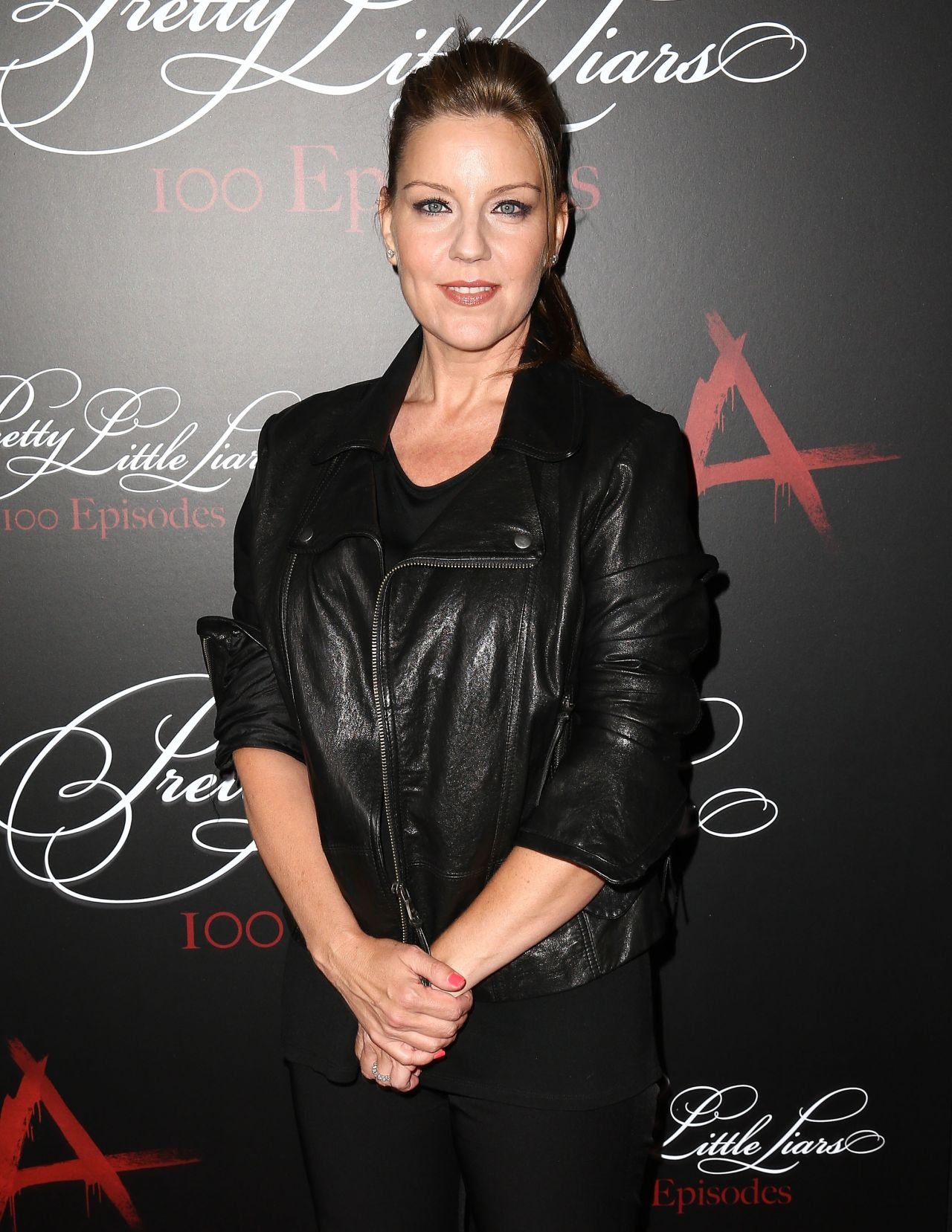 Andrea Parker at 'Pretty Little Liars' 100th Episode Celebration in Hollywood