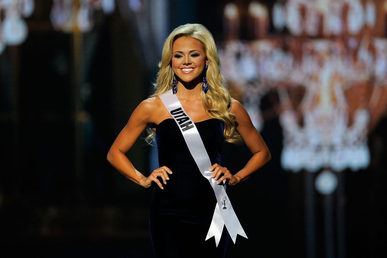 Angelia Layton - Miss USA Preliminary Competition - June 2014