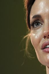 Angelina Jolie - Global Summit to End Sexual Violence in Conflict - June 2014