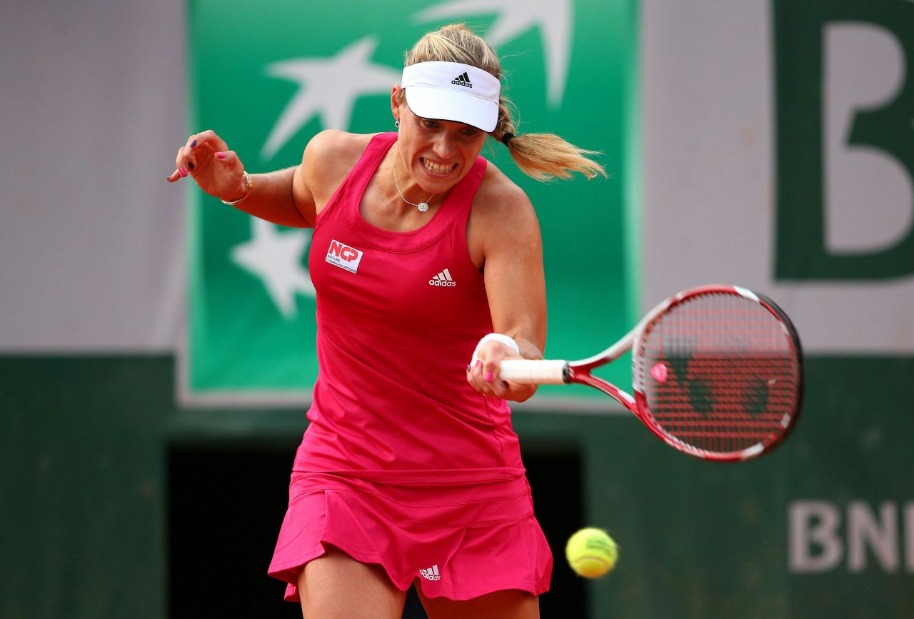 french open kerber
