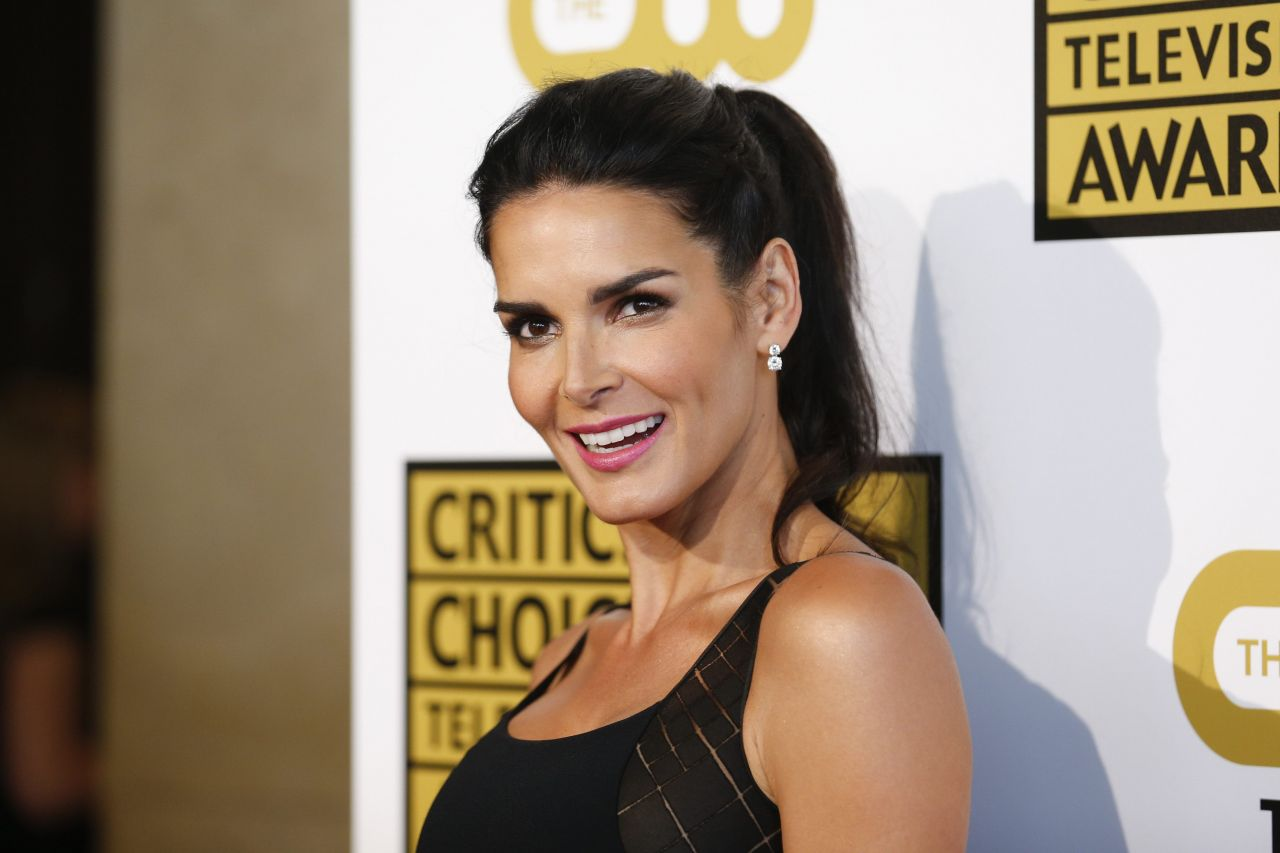 Angie Harmon – 2014 Critics Choice Television Awards in Beverly Hills