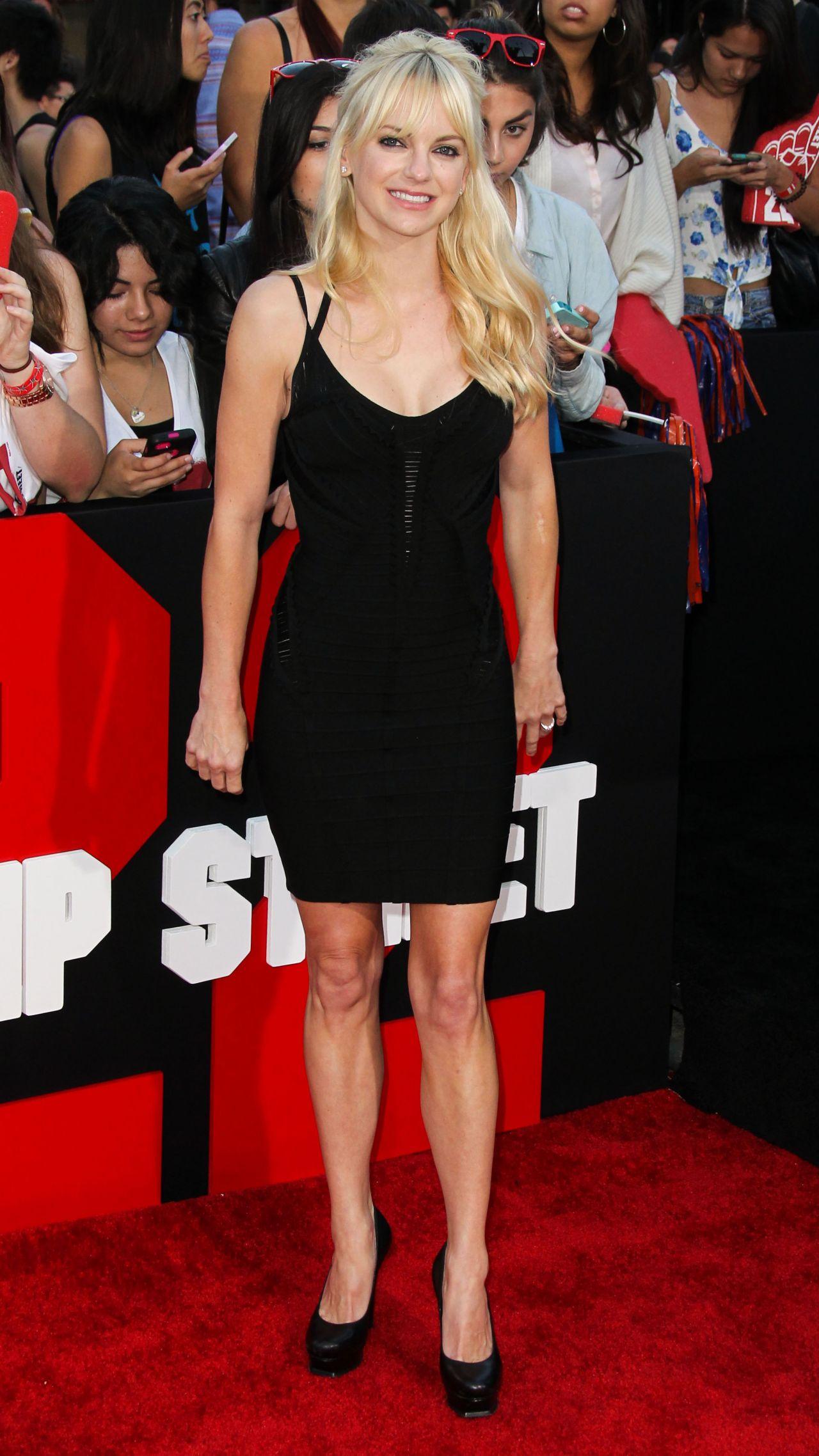 Anna Faris 22 Jump Street Premiere In Los Angeles
