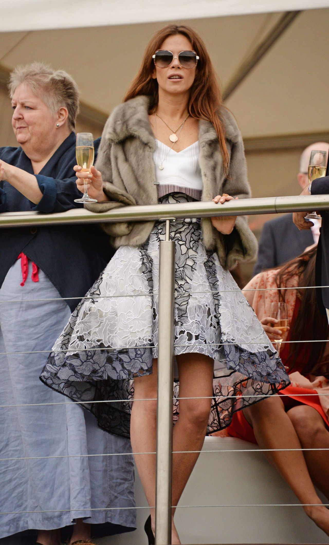 Anna Friel At Audi Polo Challenge At Coworth Park Polo
