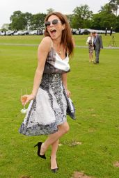 Anna Friel at Audi Polo Challenge at Coworth Park Polo Club in Ascot - May 2014