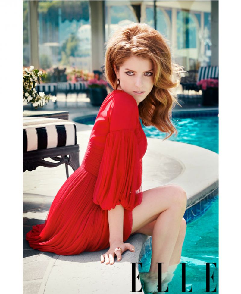 Anna Kendrick - Elle Magazine July 2014 Issue