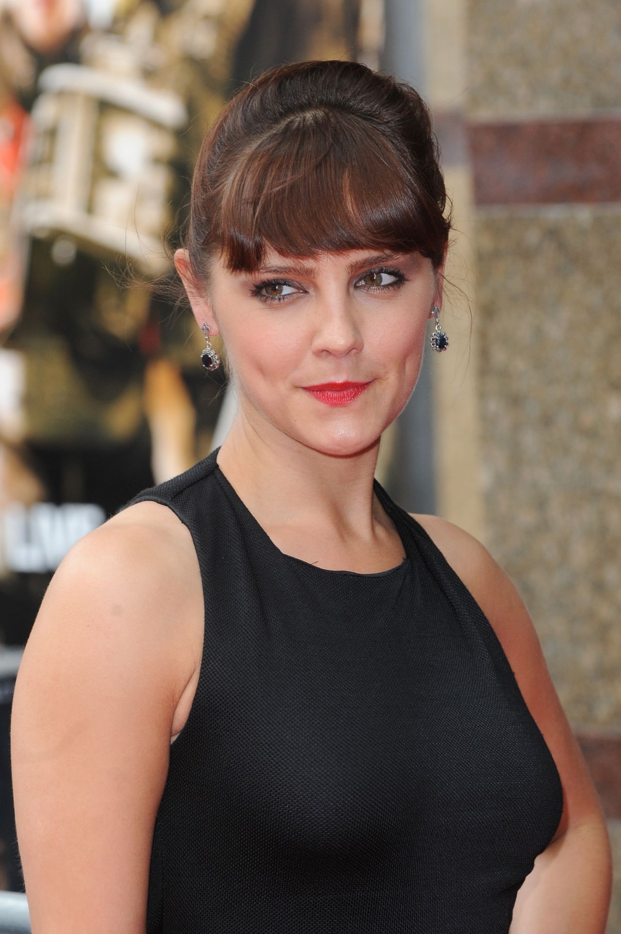Annabel Scholey – 'In The Wings On A World Stage' Premiere in UK