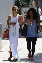 AnnaLynne McCord Street Style - Out in West Hollywood - June 2014
