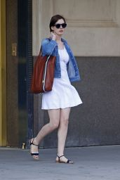Anne Hathaway - Out in New York City - June 2014
