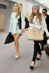 Ariana Grande at Narita International Airport in Tokyo - June 2014