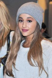 Ariana Grande at Narita International Airport in Tokyo - June 2014