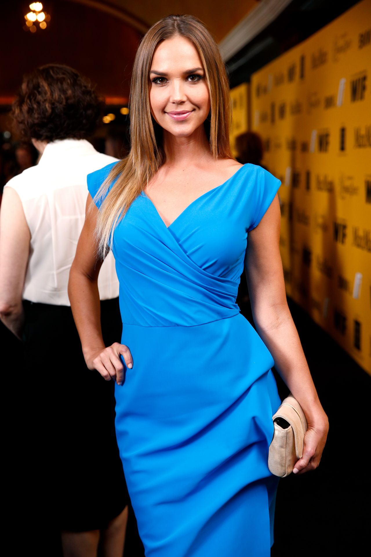 Arielle Kebbel - Women In Film 2014 Crystal And Lucy