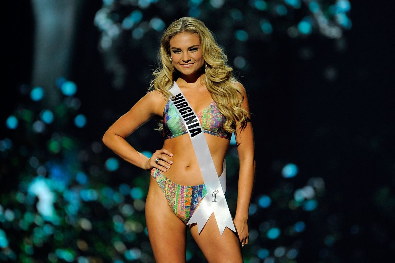 Arielle Rosmarino (Virginia) - Miss USA Preliminary Competition - June 2014