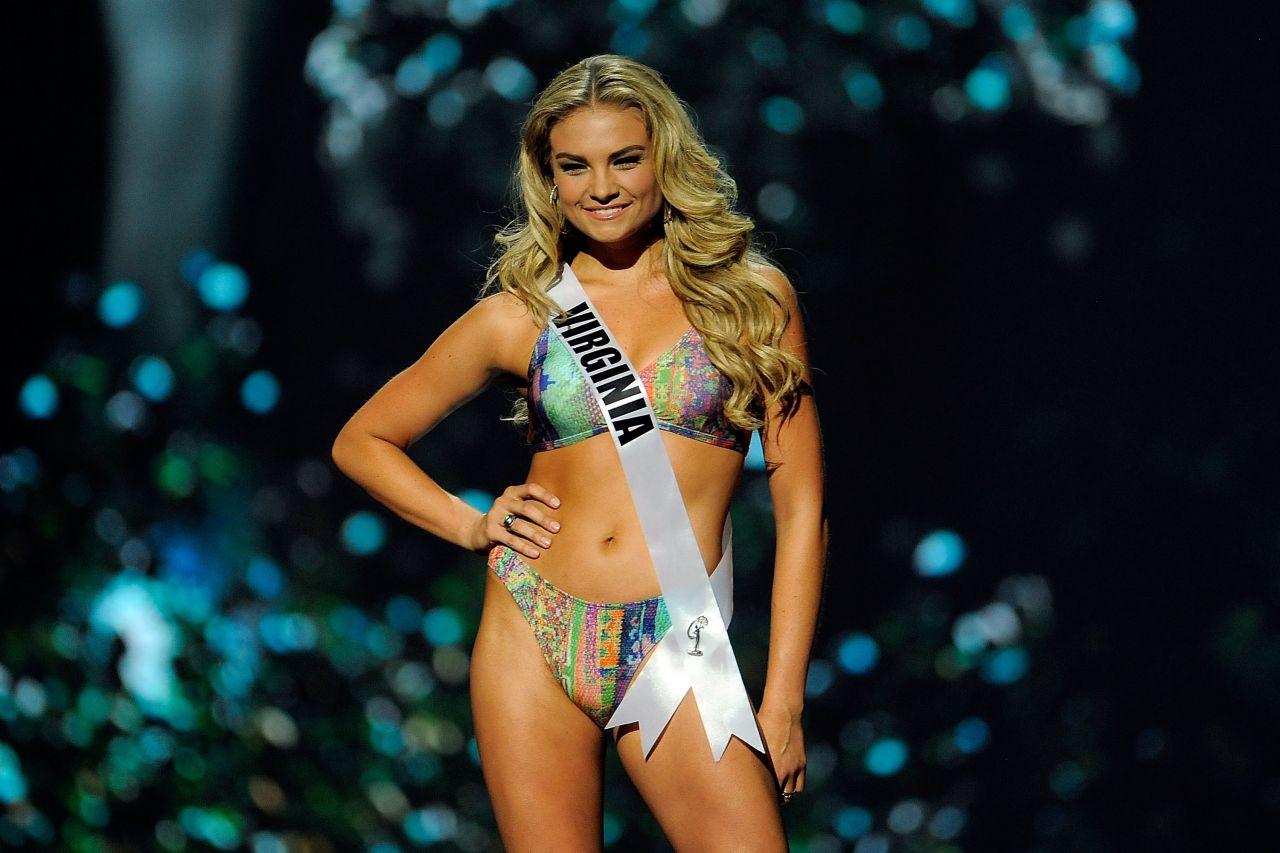 Arielle Rosmarino (Virginia) - Miss USA Preliminary Competition - June 2014