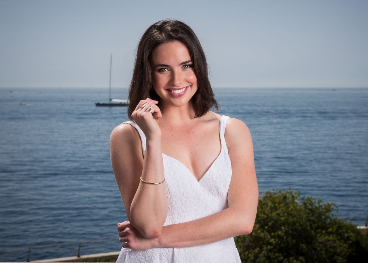 Ashleigh Brewer - 2014 Monte Carlo TV Festival