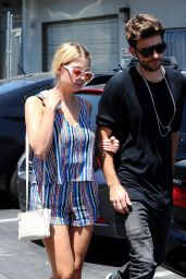 Ashley Benson Leggy - Out in Beverly Hills - June 2014