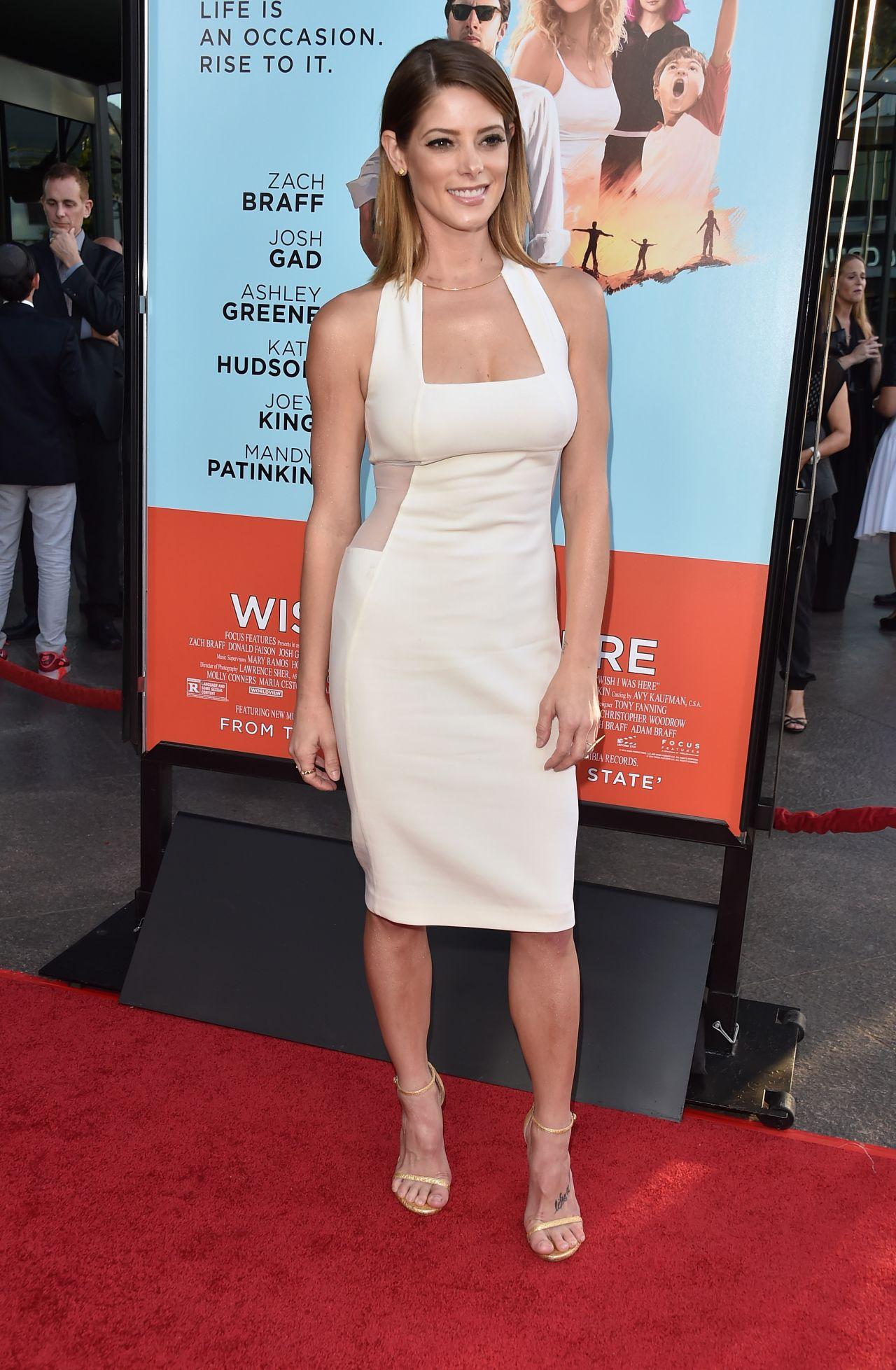 Ashley Greene Wish I Was Here Premiere In Los Angeles