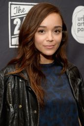 Ashley Madekwe at Montblanc and Urban Arts 24 Hour Plays in Santa Monica