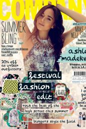 Ashley Madekwe - Company Magazine (UK) - July 2014 Cover