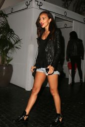 Ashley Madekwe night out Style - Chateau Marmont in West Hollywood - June 2014