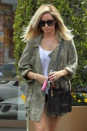 Ashley Tisdale Out in Studio City - Going to a Nail Salon
