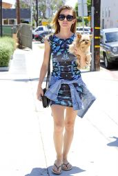 Audrina Patridge in Mini Dress - Out in West Hollywood - June 2014