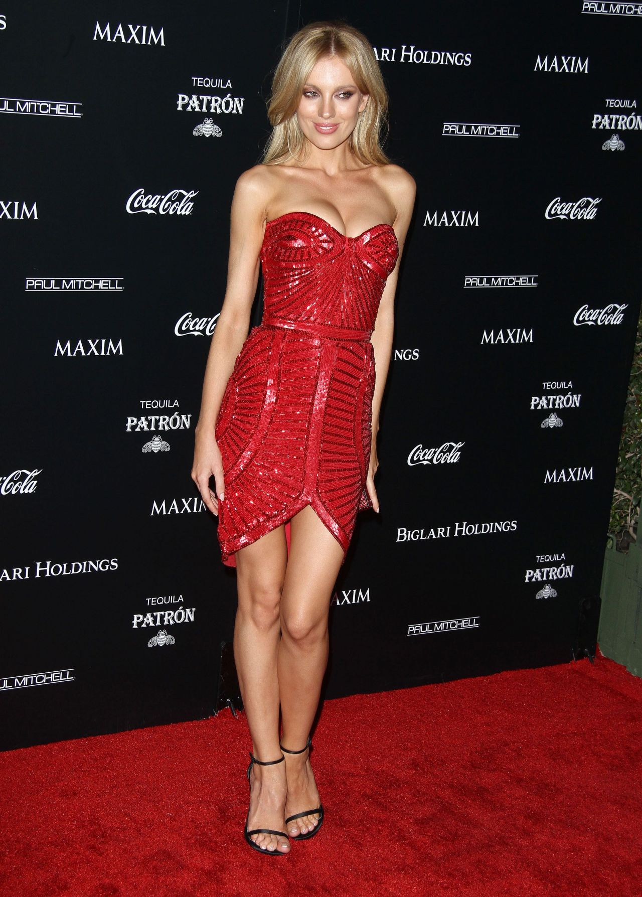 Bar Paly  Maxims Hot 100 Women Of 2014 Celebration - Game Of Thrones Hairstyles