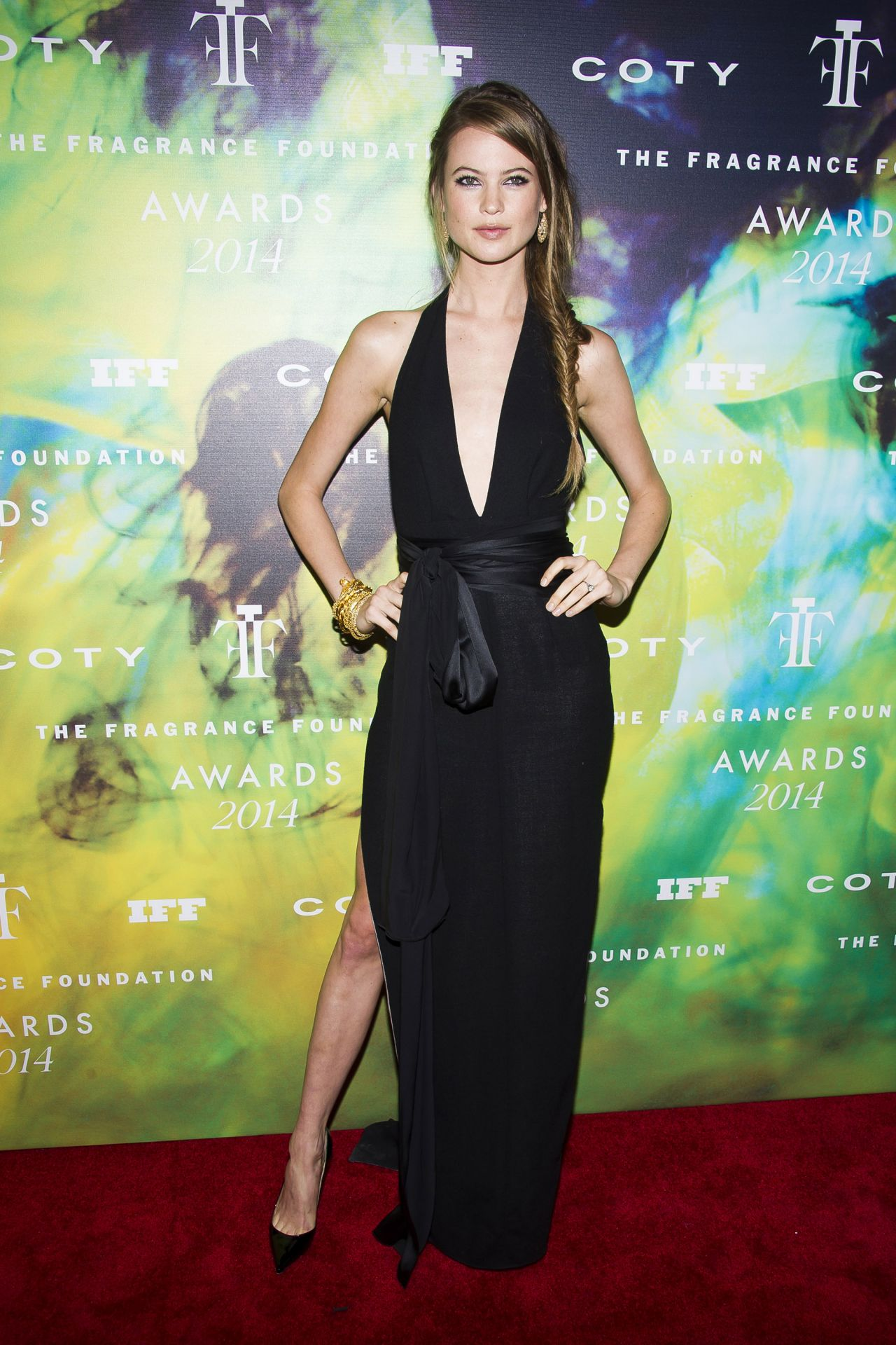 Behati Prinsloo - Fragrance Foundation Awards 2014