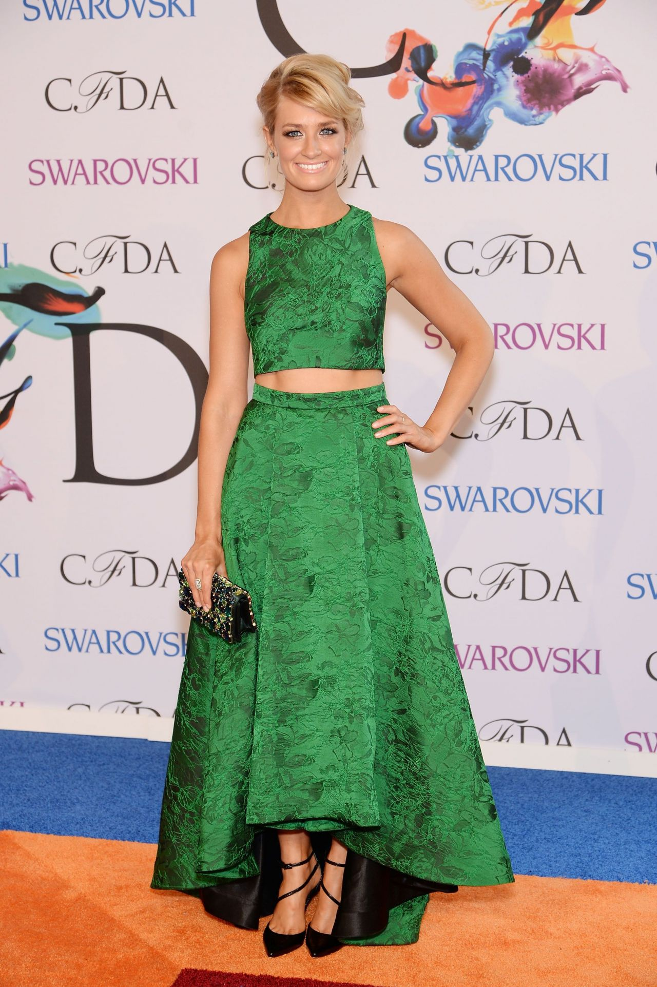 Beth Behrs - 2014 CFDA Fashion Awards in NYC
