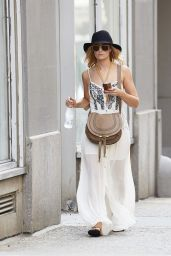 Beth Behrs Casual Style - Out in NYC - June 2014