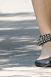 Blake Lively Shows Off Her Legs – Out in New York City - June 2014