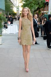 Blake Lively Wearing Michael Kors Dress - 2014 CFDA Fashion Awards in NYC