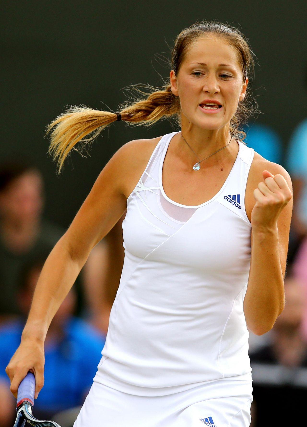 Bojana Jovanovski Wimbledon Tennis Championships 2014