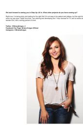 Briana Evigan – Regard Magazine – June 2014 Issue