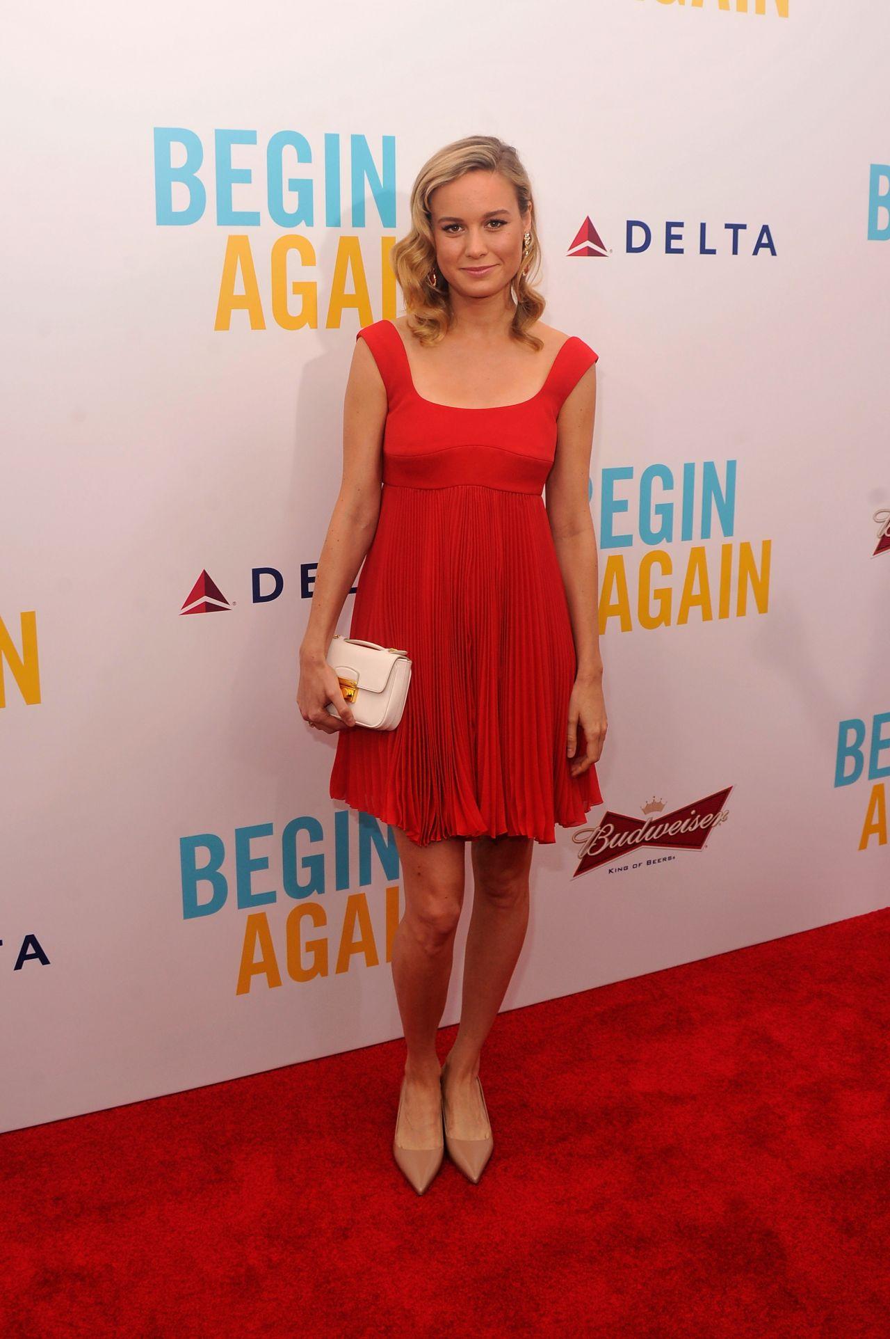 Brie Larson Begin Again Premiere In New York City