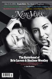 Brie Larson & Shailene Woodley - New York Magazine June 2, 2014
