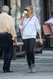 Cameron Diaz in Tights - Out in New York City - June 2014