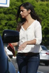 Camila Alves in Jeans Out in West Hollywood - June 2014